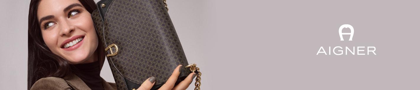 Premiummarke Aigner - Handtaschen, Gürtel und Lederwaren online kaufen.