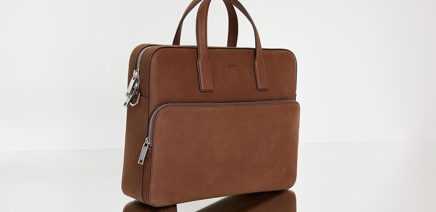 Mit BOSS Aktentasche, Kleinlederwaren und Accessoires perfekt gestylt.