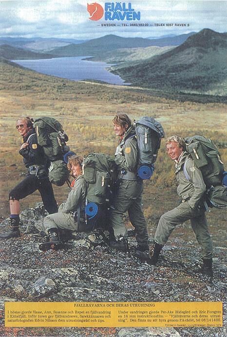 Fjällräven: setzt Outdoor-Trends seit 1960.