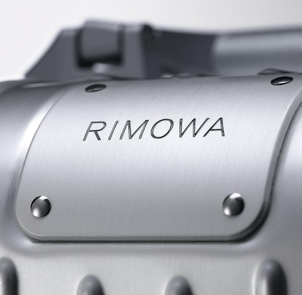 RIMOWA: Kofferkunst aus Aluminium.