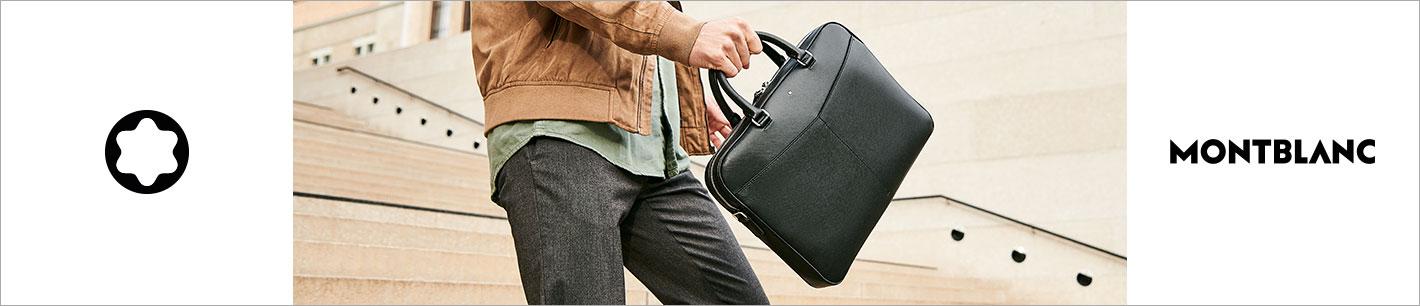 Montblanc: Luxus Trolleys, Taschen, Lederwaren & Accessoires bei Markenkoffer.de