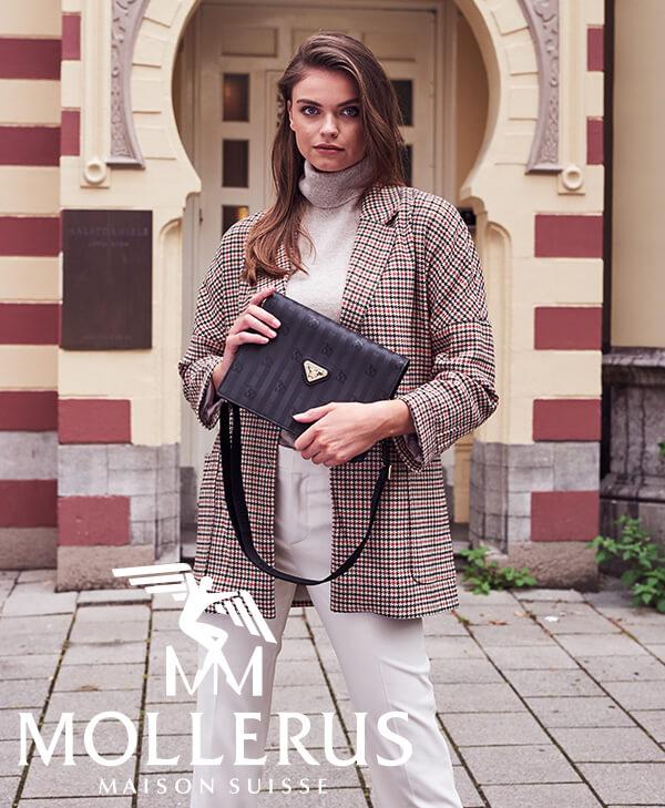 Maison Mollerus Handtasche in Schwarz - ein stilvoller Begleiter