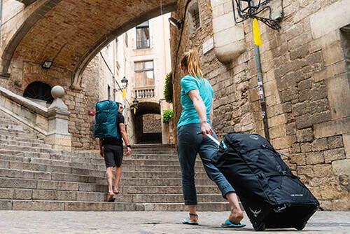 Reisetasche mit Rollen: flexibel & komfortabel