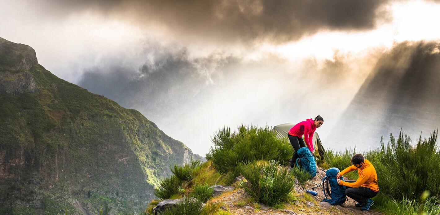 Opsrey Trekkingrucksäcke wie der Kestrel sind längst Klassiker.