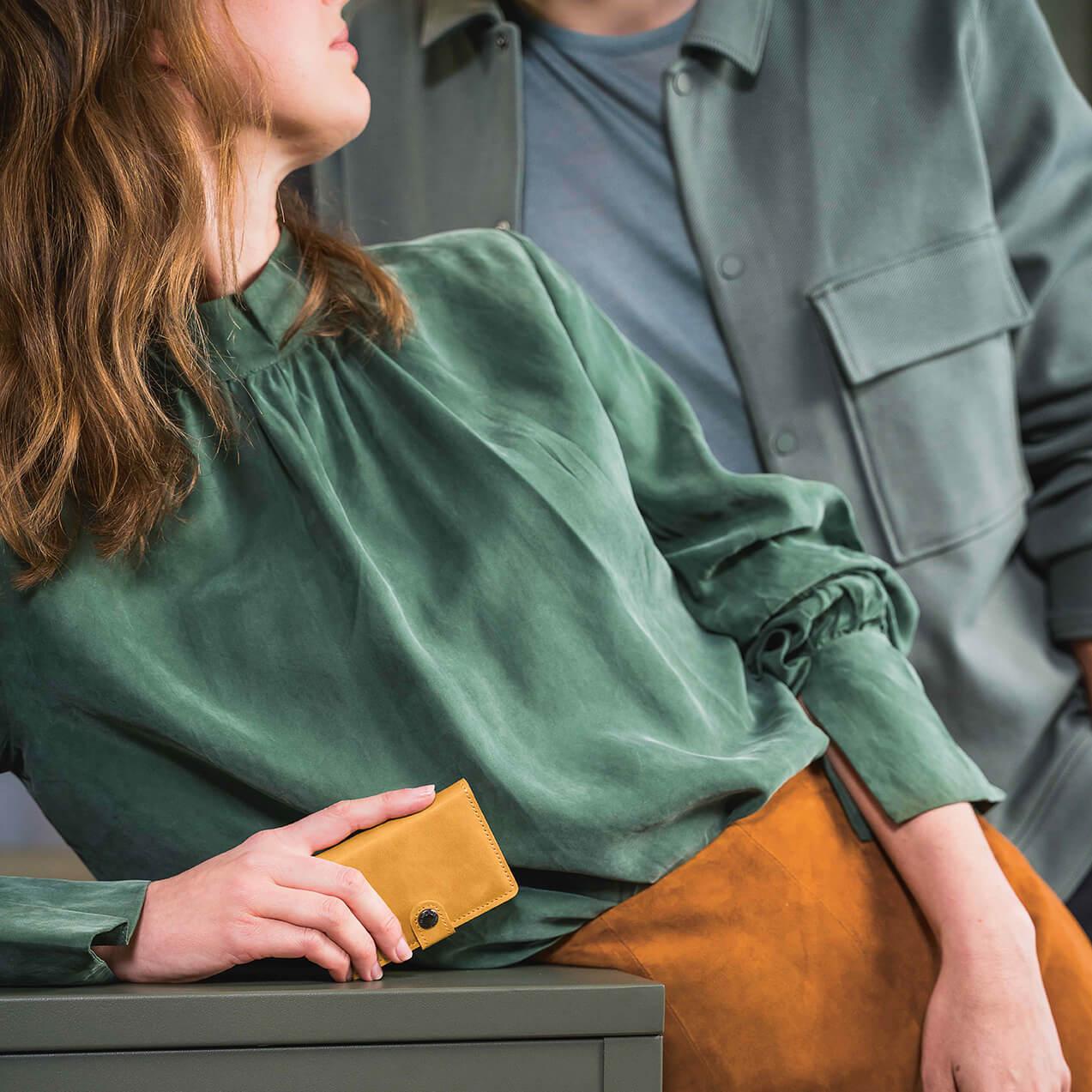 Geldbörse für Sie und Ihn: Secrid bietet verschiedene Kollektionen, wie hier im Vintage-Stil.