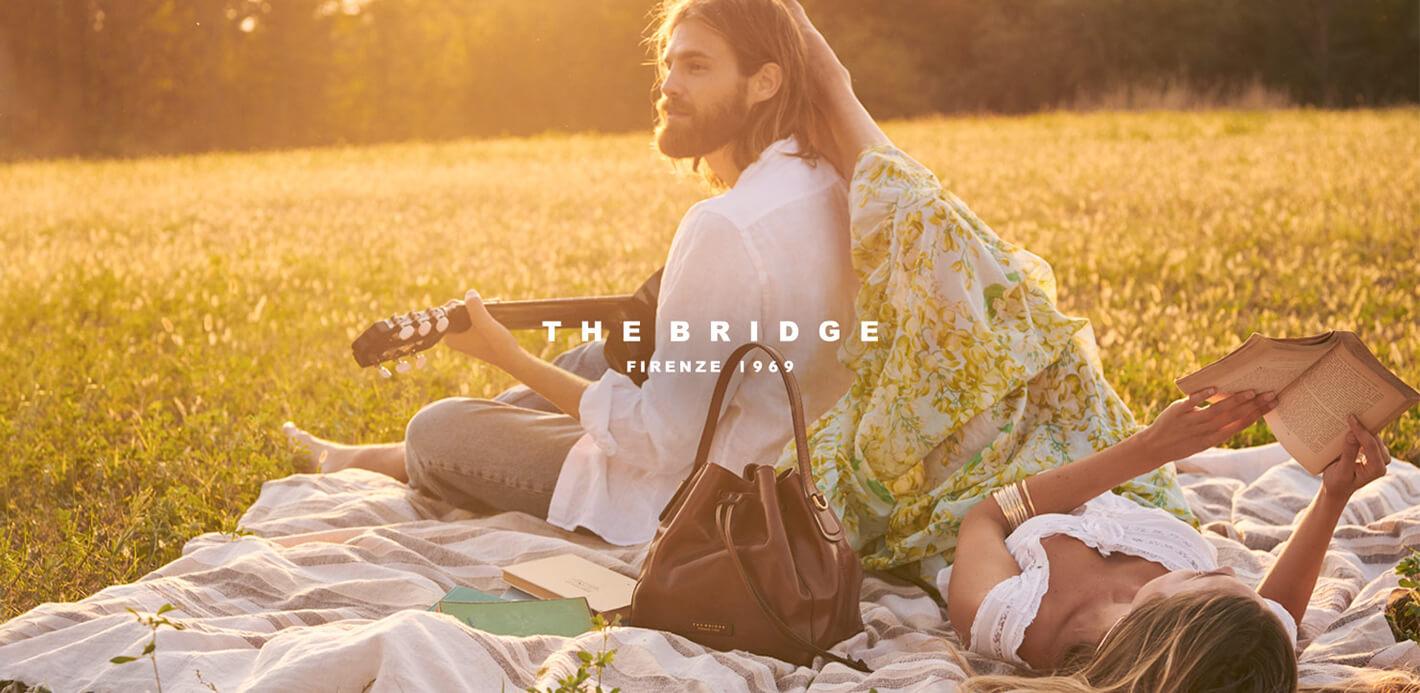 The Bridge: Taschen, Rucksäcke & Lederaccessoires im Bohemian-Look