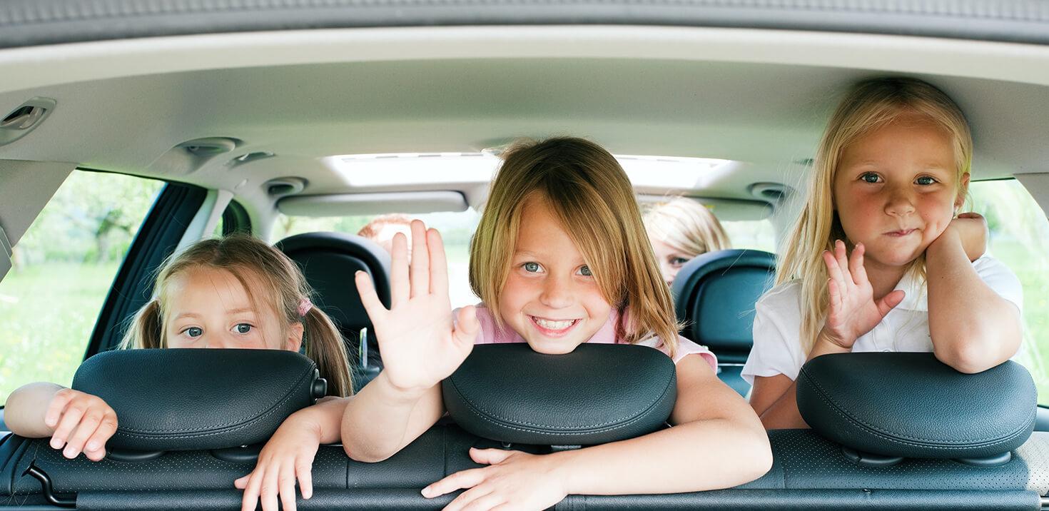 Autoreisen mit Kindern