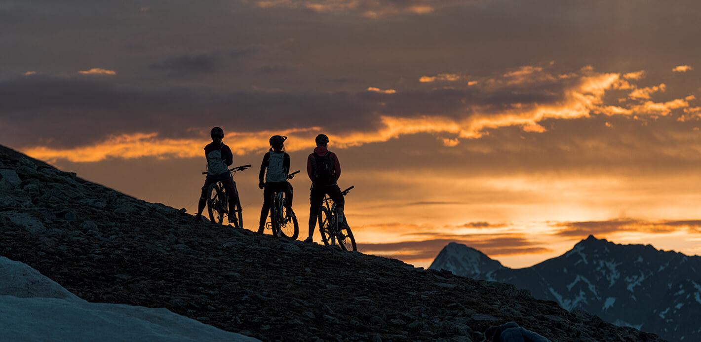 Bikepacking oder mehrtägige Trekkingtouren: So geht Reisen mit dem Fahrrad.