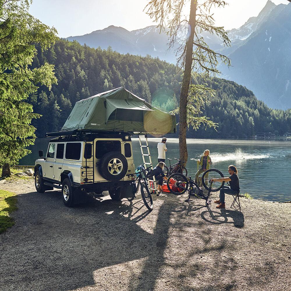 Camping mit der ganzen Familie