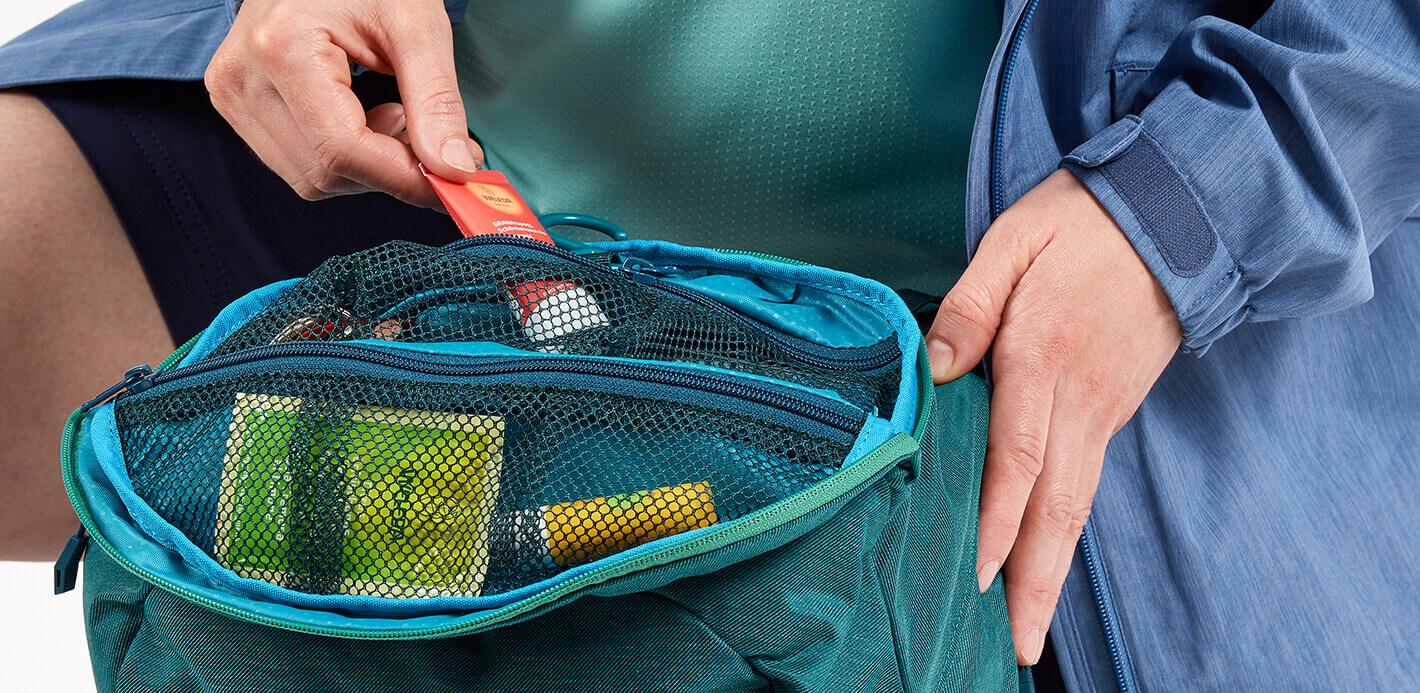 Clevere Hilfen beim Rucksack packen.