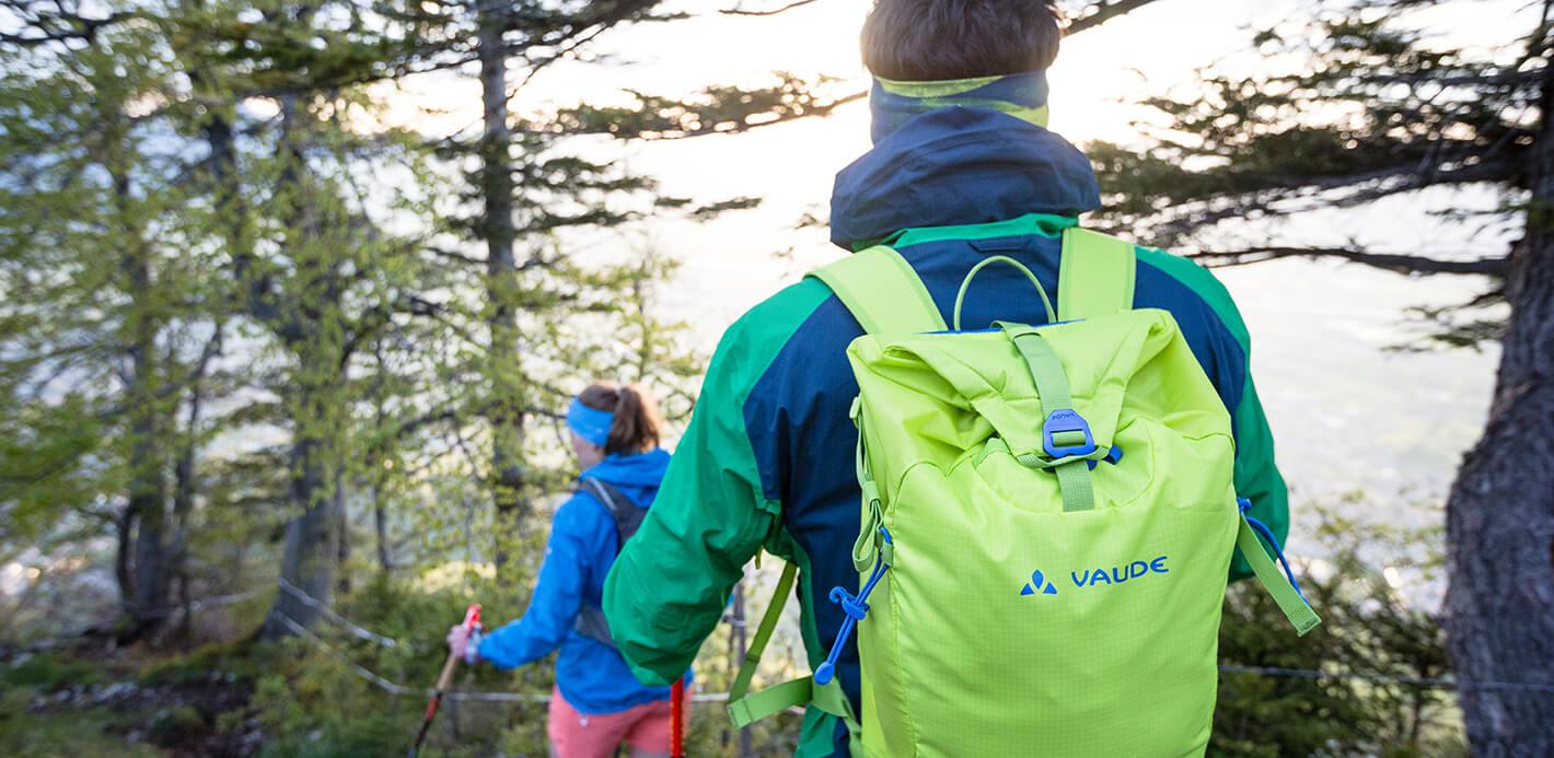 Funktional, umweltfreundlich und fair: Vaude bietet Rucksäcke & Taschen für Ihre Freizeit, Ihren Sport..