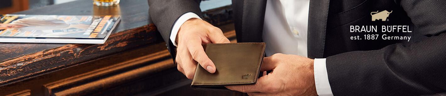 Braun Büffel Geldbörsen & Taschen online shoppen