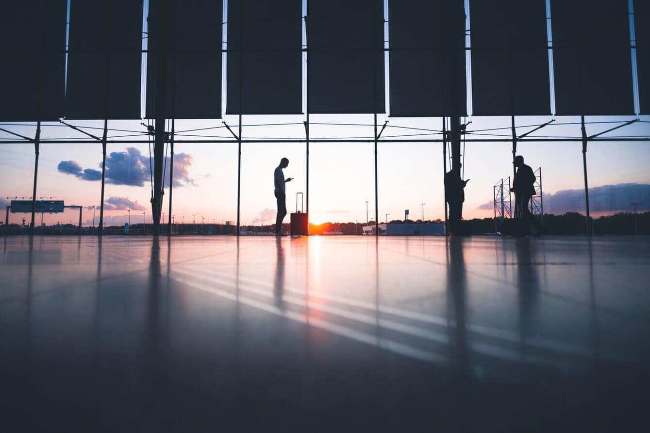 Businesstrolley Flughafen Handgepäck