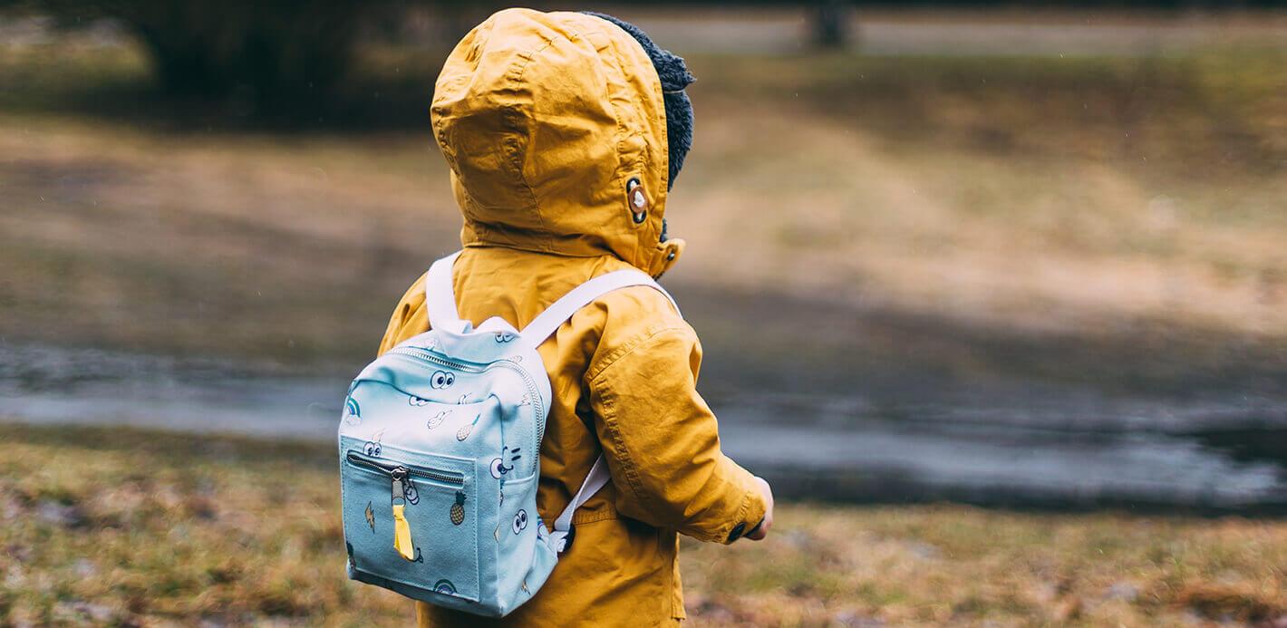 Ausstattung Kindergarten: Was neben einem süßen Kinderrucksacke benötigt wird.