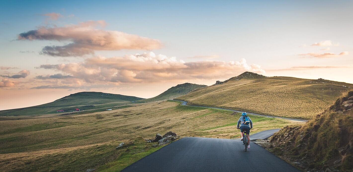 Kraft, Ausdauer, naturschöne Kulissen: Biking ist vielseitig.