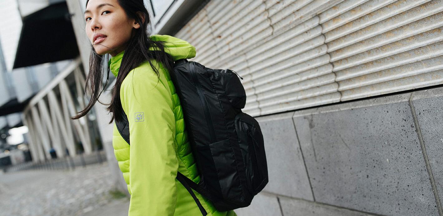 Rucksack und Reisetaschen von Jack Wolfskin - perfekt im Alltag, unterwegs, in der Natur.