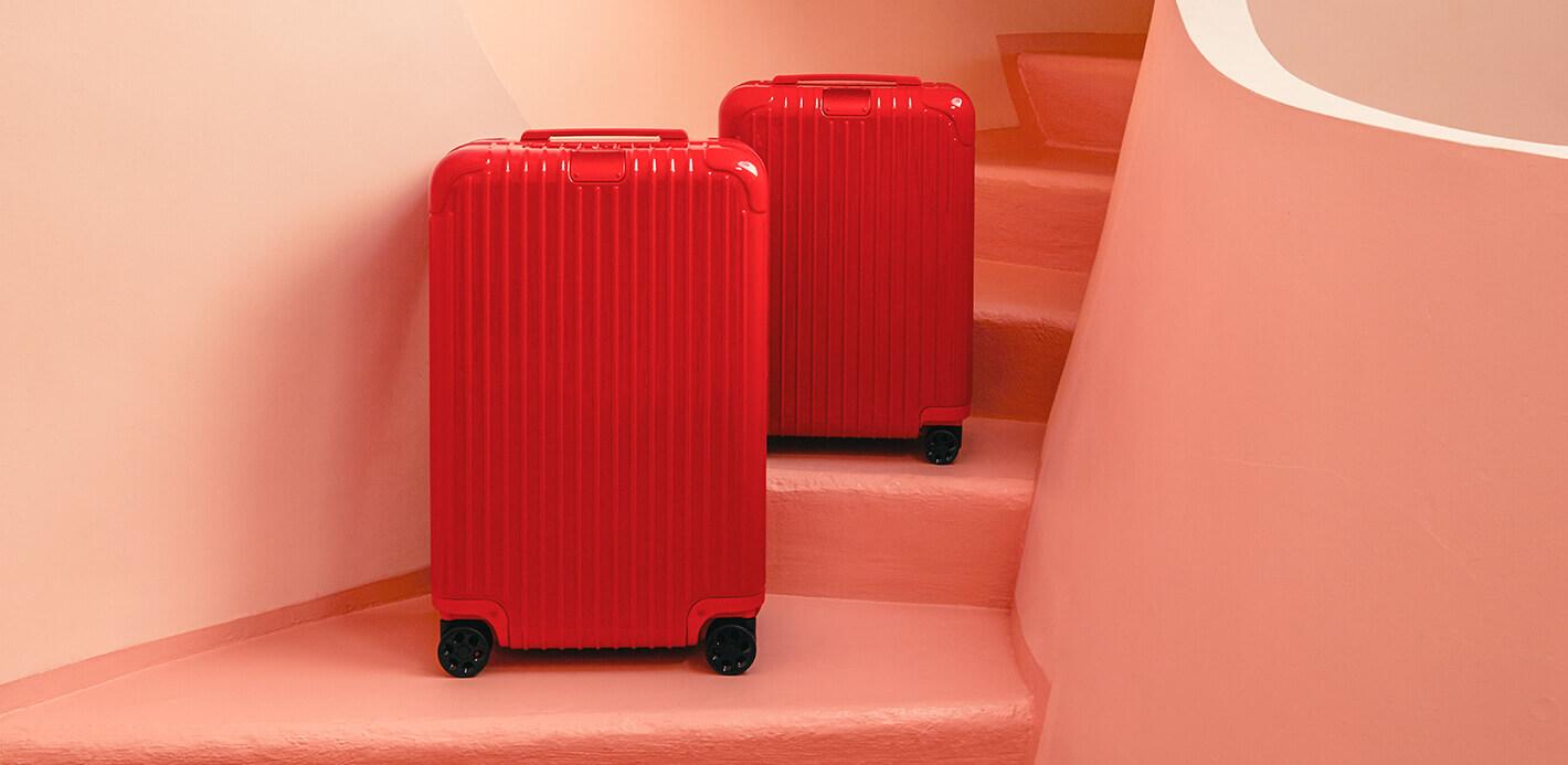 Die perfekte Farbe, das passende Modell für mich? Rimowa Koffer selbst testen.