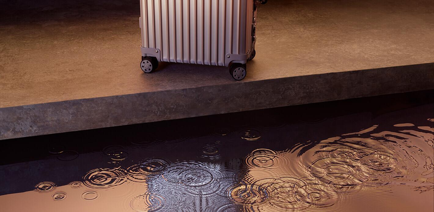 Robust - auch bei extremen Temparaturen: Rimowa Koffer.