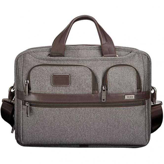 Foto 3 Tumi Alpha2 Business - Ballistic Nylon T-Pass Laptop-Aktentasche, mittelgroß 40,5 cm 15 - Tumi Alpha Business Case Collection - Ballistic Nylon Tumi T-Pass® Medium Screen Laptop Slim Brief