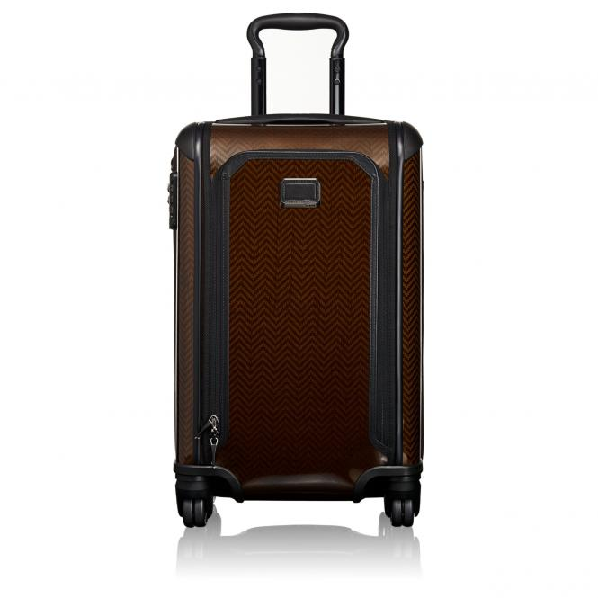 Tumi Tegra-Lite Max International Expandable Carry-On 4-Rollen-Kabinentrolley 56 cm - herringbrown