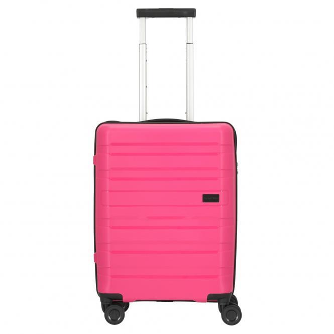 Travelite Kosmos 4-Rollen-Kabinentrolley S 55 cm - pink