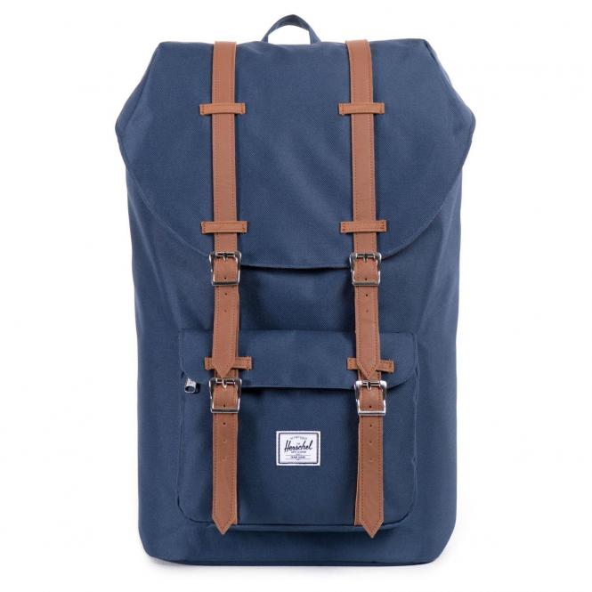 Herschel Little America Backpack Rucksack 49.5 cm - navy/tan