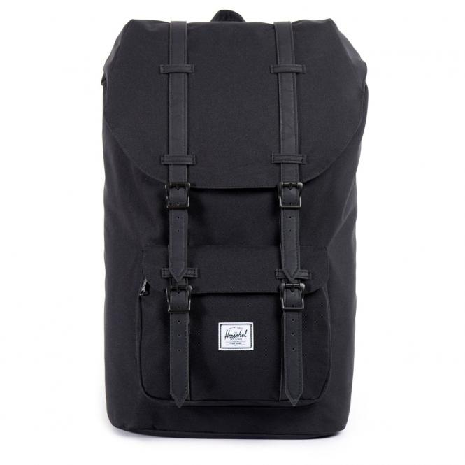 Herschel Little America Backpack Rucksack 49.5 cm - black/black