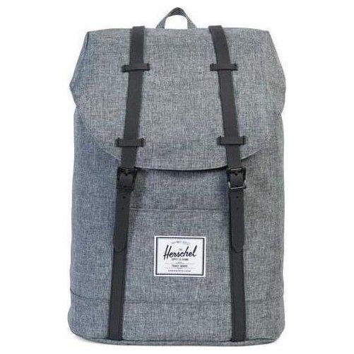 Herschel Retreat Backpack Rucksack 43 cm - raven crosshatch/black/black rubber