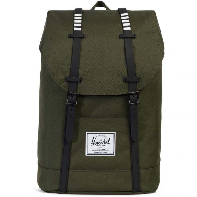 Herschel Retreat Backpack Rucksack 43 cm - forest night/black rubber/white