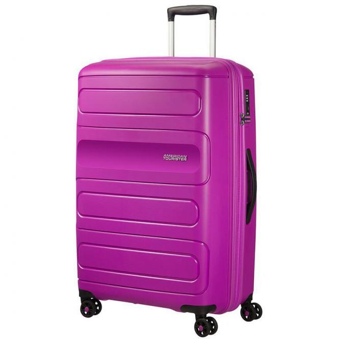 American Tourister Sunside 4-Rollen-Trolley 77 cm - ultraviolett