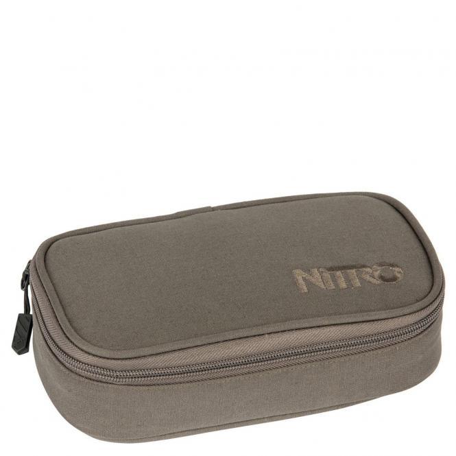 Nitro Packs Pencil Case XL 21 cm - waxed lizard