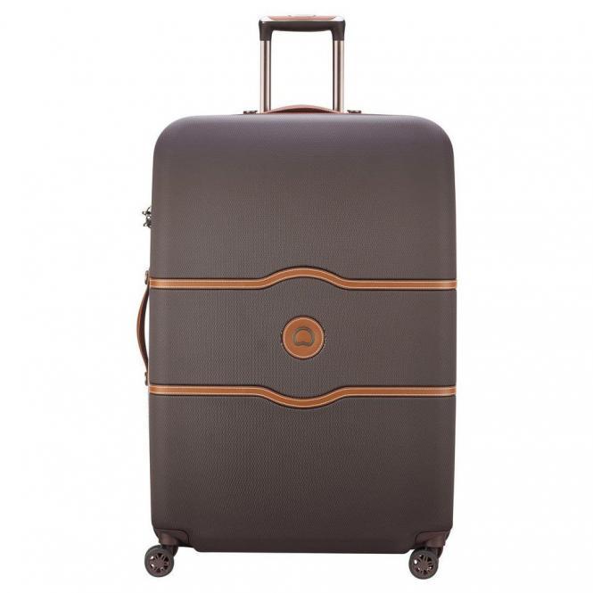 Delsey Chatelet Air 4-Rollen-Trolley 82 cm - schokolade