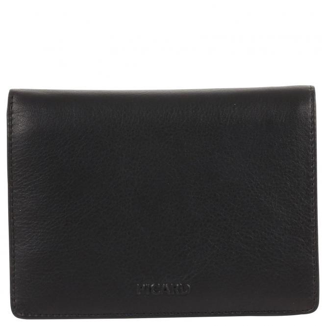 Picard Brooklyn Herrengeldbörse Hochformat 13 cm - schwarz