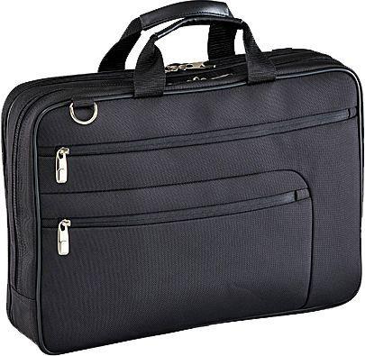 D&N Basic Laptoptasche 1680D Polyester 44 cm 17 - schwarz