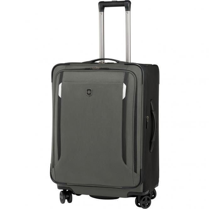 Victorinox Werks Traveler 5.0 WT24 Dual-Caster 4-Rollen-Trolley 61 cm erweiterbar - olive