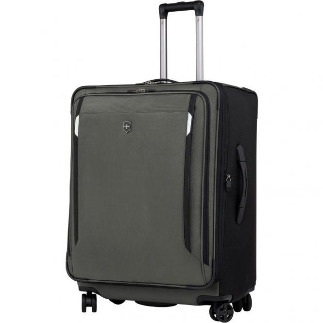 Victorinox Werks Traveler 5.0 WT27 Dual-Caster 4-Rollen-Trolley 69 cm erweiterbar - olive