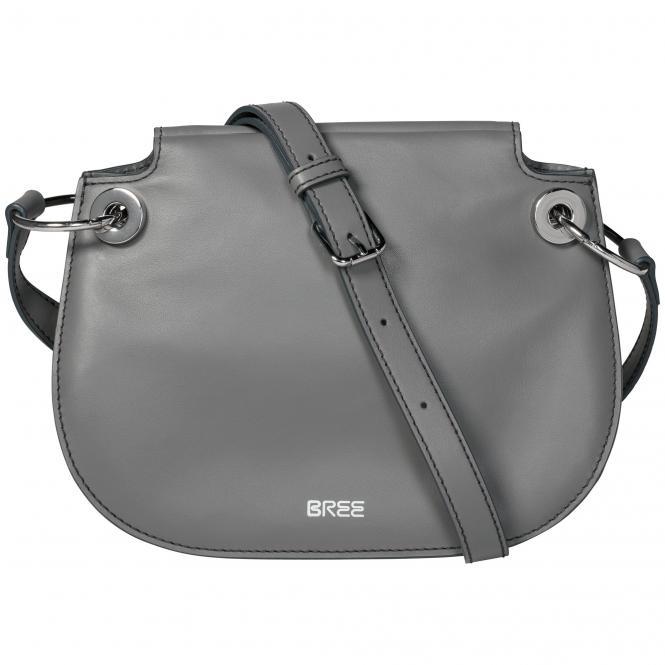 Bree Cordoba 6 Umhängetasche 25 cm Leder - dark grey*