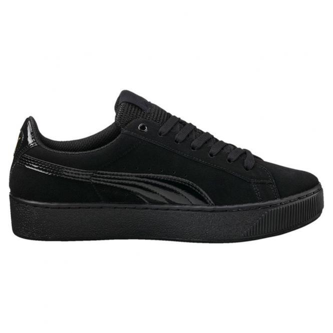 Puma Damen Sneaker Vikky Platform Schuh 363287 - 41  puma black-puma black