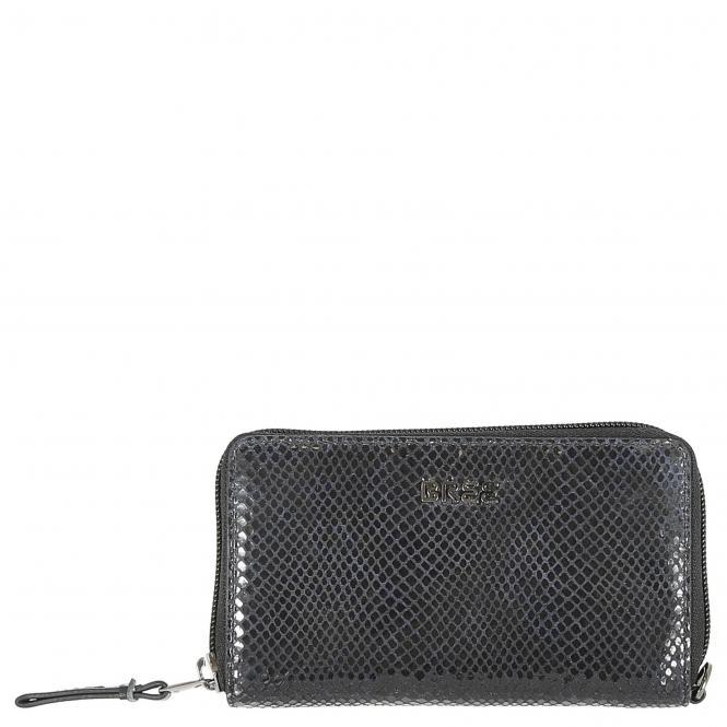 Bree Issy 134 Damengeldbörse 15.5 cm - black/bl...