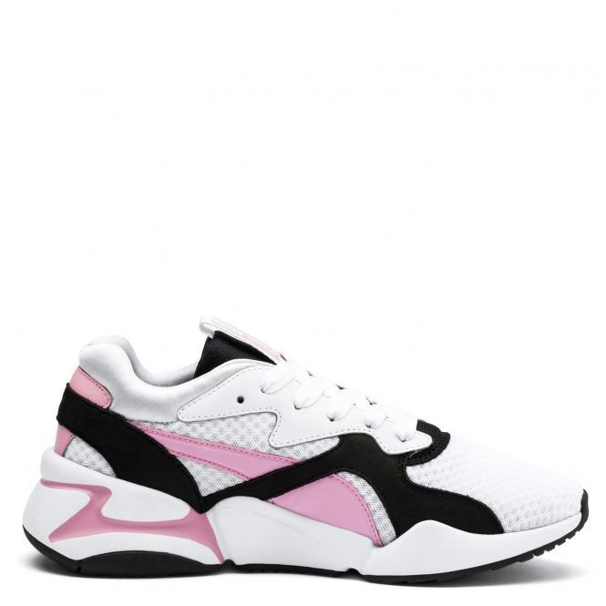 Puma Women Nova 90´s Bloc Running Schuh 369486 - 38   white/pale pink