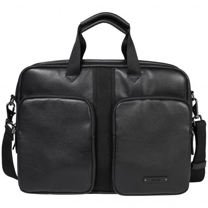Bree Steve 3 Messenger Bag/Businesstasche 39 cm Herren - black