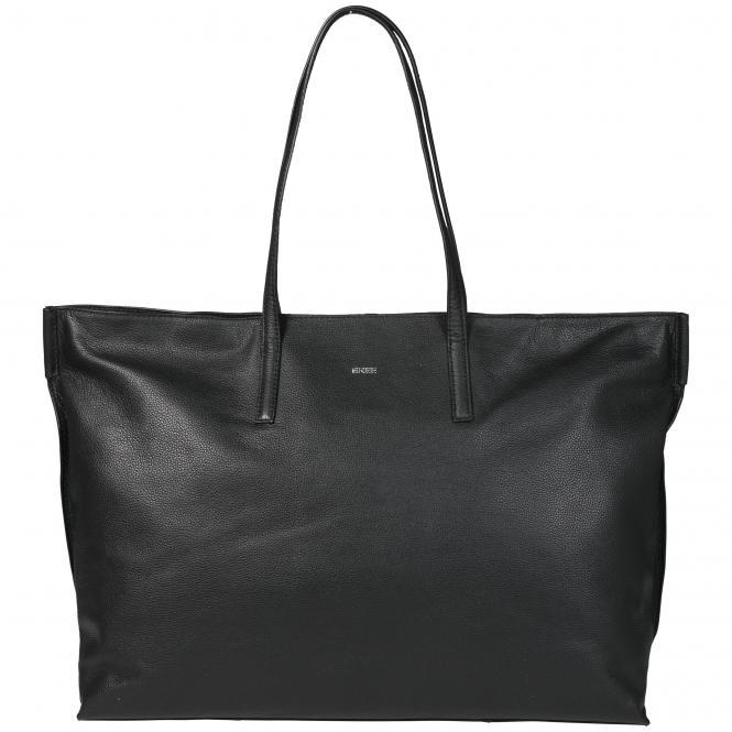 Bree Cary 7 Shopper 56 cm Leder - black