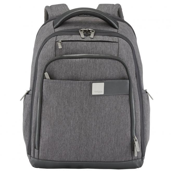Titan Power Pack Business Rucksack 46 cm - mixed grey