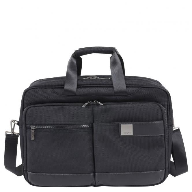 Titan Power Pack Business Laptoptasche 45 cm - black