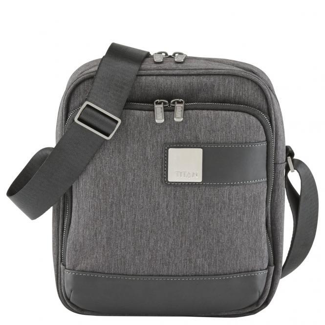 Titan Power Pack Shoulderbag 26 cm - mixed grey