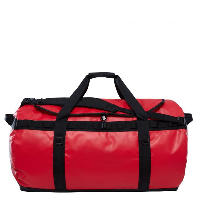 The North Face Base Camp Duffel / Reisetasche - XL - red/black