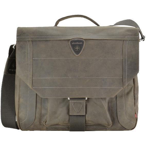 Strellson Hunter Briefbag Aktentasche M 40 cm - dark brown