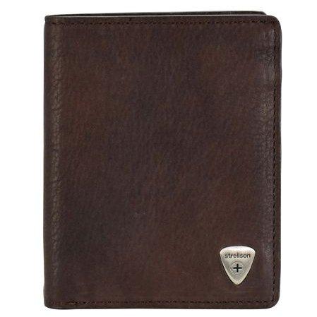 Strellson Harrison Geldbörse BillFold V8 - dark brown