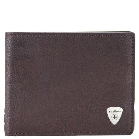 Strellson Harrison Geldbörse BillFold H8 - dark brown