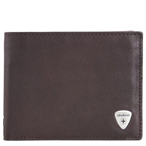 Strellson Harrison Geldbörse BillFold H4 - dark brown